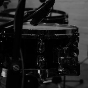 recording drums